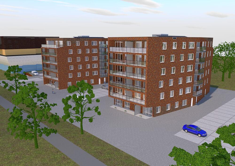 54 nieuwbouw appartementen Dronten